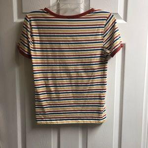Colorful Striped T-Shirt